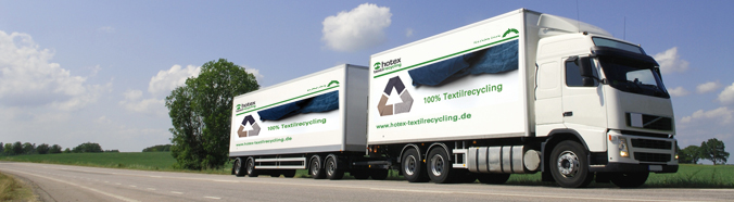 Hotex Textilrecycling Logistik